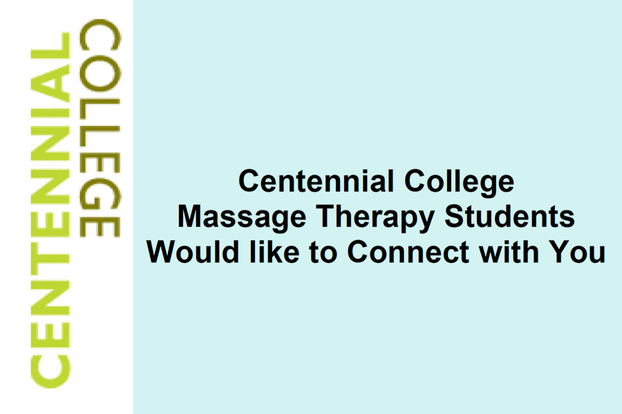 Centennial College Massage Therapy