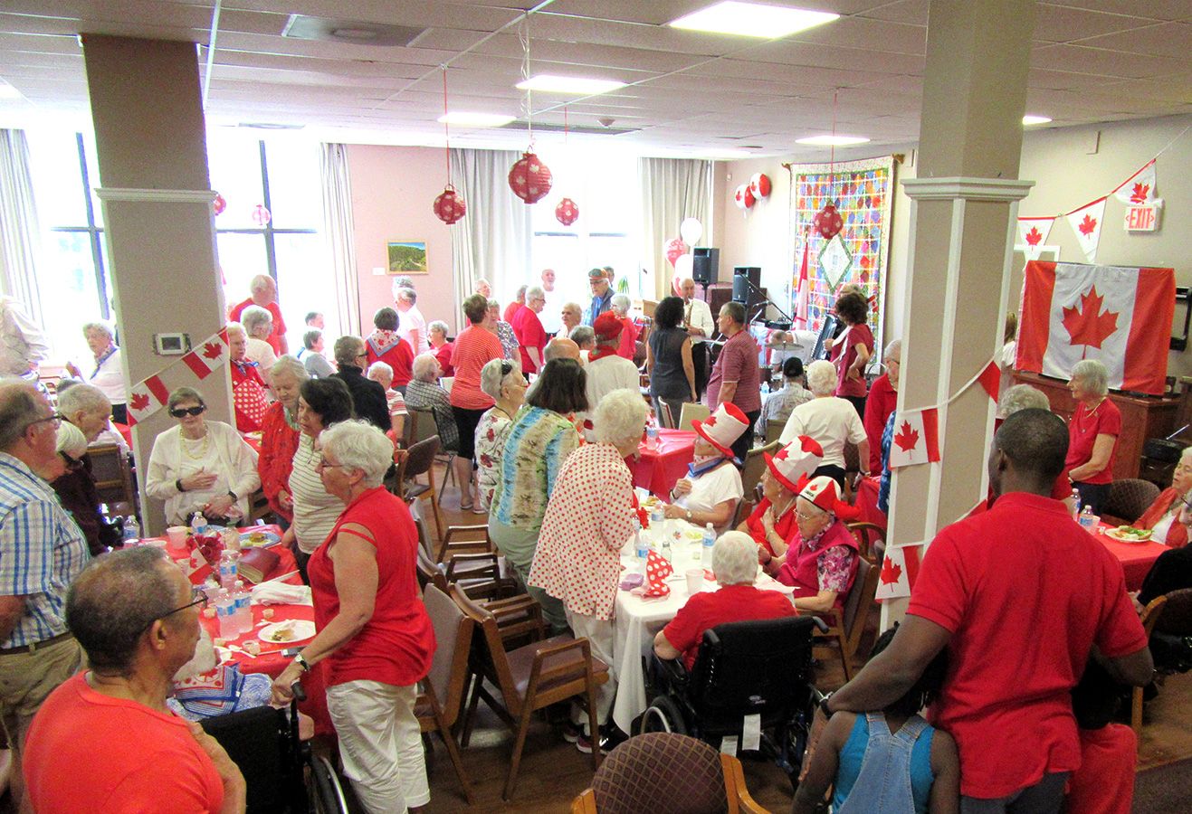 Canada Day celebration at St. Clair and O'Connor Community