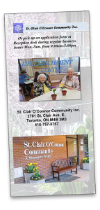 Seniors Active Living Centre brochure