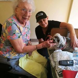 Pet visits with Solana @ LTC Lounge