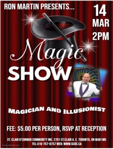 Magic Show @ MTG